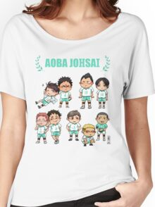 Aoba Johsai chibis Women's Relaxed Fit T-Shirt