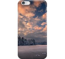 Sunset over the Pound iPhone Case/Skin