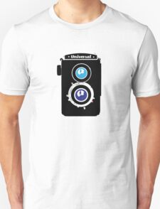 Vintage LOMO Twin Lens Reflex Camera illustration T-Shirt