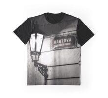 Street lamp, Charles Bridge Graphic T-Shirt