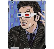 Tardis Tennant ThreeDee Ten iPad Case/Skin