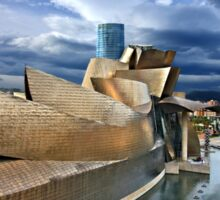 The Guggenheim Museum - Bilbao Sticker