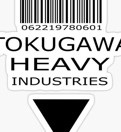 MGS - Tokugawa Heavy Industries Sticker