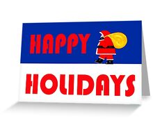 HAPPY HOLIDAYS 15 Greeting Card