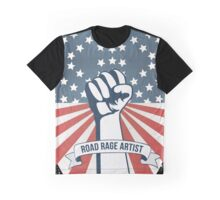 Road Rage Artist Made In Usa funny car drive design Graphic T-Shirt