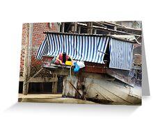 Vietnam: Washing Her Hair Greeting Card