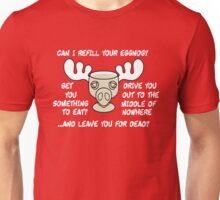 Can I Refill your Eggnog Unisex T-Shirt