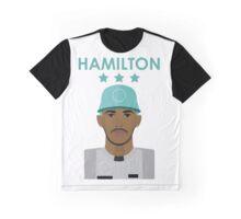 Lewis Hamilton 2016 - Colour Graphic T-Shirt