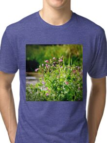 Dreamy Wild Flowers Tri-blend T-Shirt