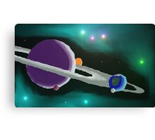 System of planets Canvas Print