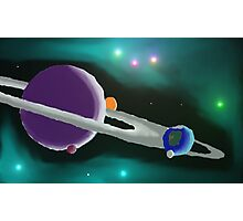 System of planets Photographic Print