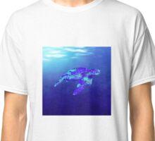 Underwater Sea Turtle Classic T-Shirt