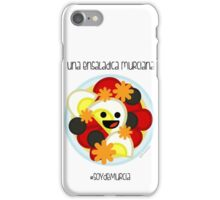 Una Ensalada Murciana iPhone Case/Skin