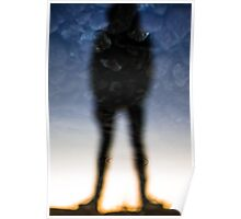 Reflection of a Man Poster