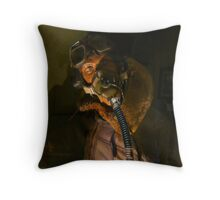 Ginger the Ghost Throw Pillow