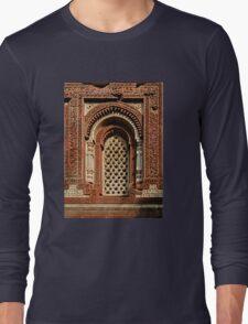 Kutab Minar Detail 1 Long Sleeve T-Shirt