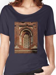 Kutab Minar Detail 1 Women's Relaxed Fit T-Shirt