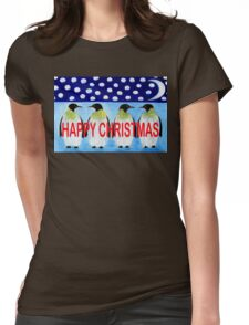 HAPPY CHRISTMAS 24 Womens Fitted T-Shirt