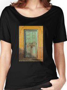 Green Door  Women's Relaxed Fit T-Shirt