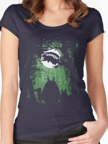 Forest friends Women's Fitted Scoop T-Shirt