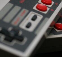 Nintendo Controllers Sticker