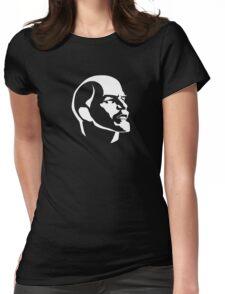Lenin portrait  Womens Fitted T-Shirt