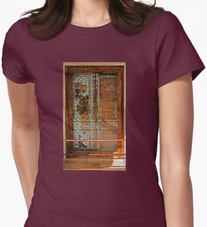 Ivory Door Womens Fitted T-Shirt