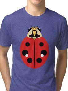 Red Ladybug Beetle Graphic Tri-blend T-Shirt
