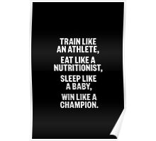 Sport Motivation Quote Poster