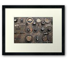 Military transceiver Framed Print