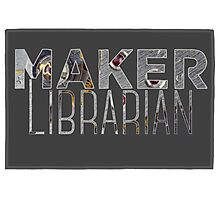 Maker Librarian Photographic Print