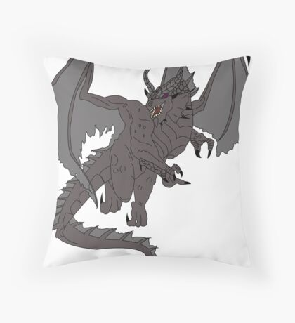SHADOW DRAGON - DUNGEONS AND DRAGONS Throw Pillow