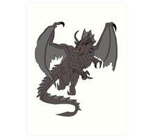 SHADOW DRAGON - DUNGEONS AND DRAGONS Art Print
