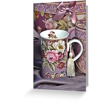 For The Best Tea Only Greeting Card