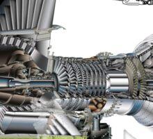 Airbus A 380 GP7000 Engine Sticker