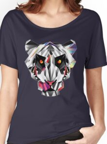 Tiger geometric drawing Women's Relaxed Fit T-Shirt