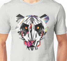 Tiger geometric drawing Unisex T-Shirt