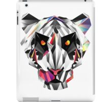 Tiger geometric drawing iPad Case/Skin