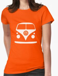 Volkswagen Van Vintage Womens Fitted T-Shirt