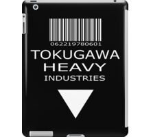 MGS - Tokugawa Heavy Industries - Black iPad Case/Skin