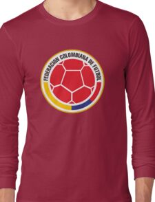 Federacion Colombiana de futebol - colombian soccer Long Sleeve T-Shirt