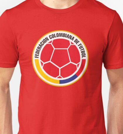 Federacion Colombiana de futebol - colombian soccer Unisex T-Shirt