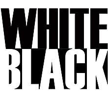 White, Black Photographic Print