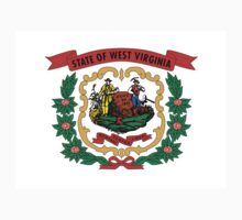 West Virginia state coat of arms One Piece - Long Sleeve