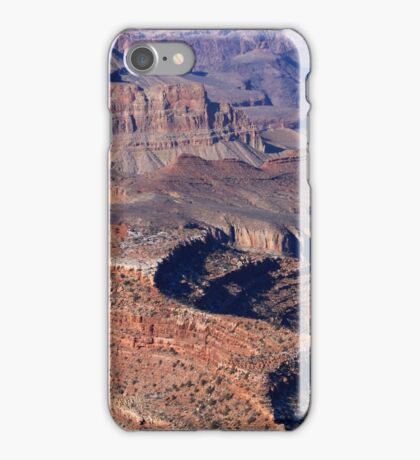 Grand Canyon South Rim Textures 5 iPhone Case/Skin