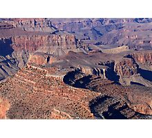 Grand Canyon South Rim Textures 5 Photographic Print