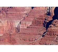 Grand Canyon South Rim Textures 40 Photographic Print