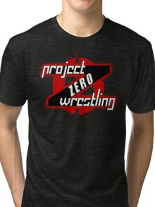 PZW [Project Zero Wrestling] Tri-blend T-Shirt