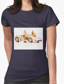 Sports car 1 Womens Fitted T-Shirt