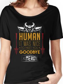 Asgore is glad to meet you Women's Relaxed Fit T-Shirt